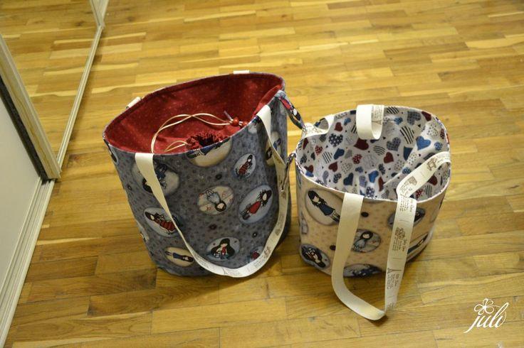 bag with drawstring inside - toto je vianočny darcek, neprezradit!!!, vnutro sa stahuje jednoducho snurkou, nic z tasky neujde, naucili sme sa u Silvie... www. silviinsvet.sk