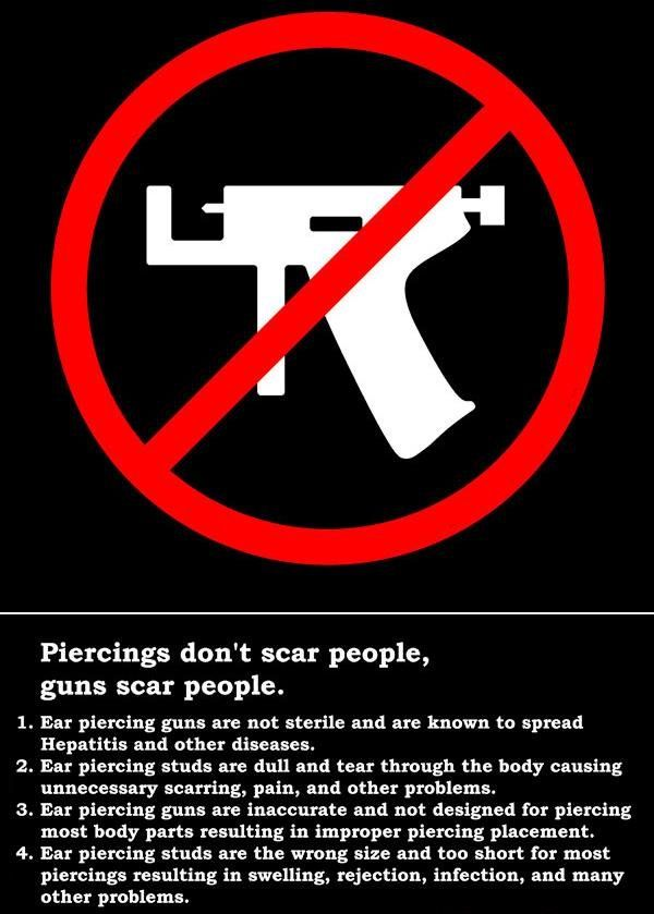 DON'T USE THE GUN. THAT WILL SCRAP YOUR CARTILAGE OR AN OTHER PART OF YOUR BODY. BE CAREFUL!