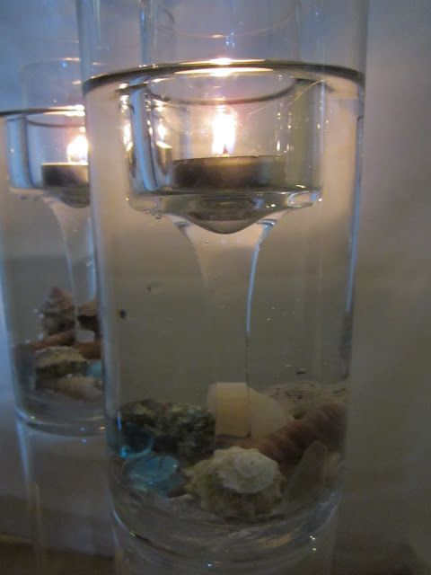 Dollar Store craft idea...fire and water.