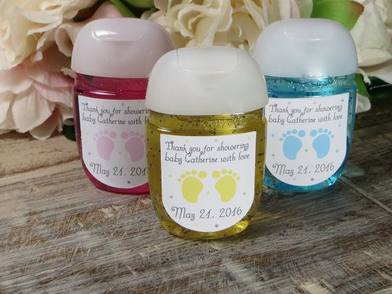 Baby shower labels Bath and Body Works favor by WildSugarberries