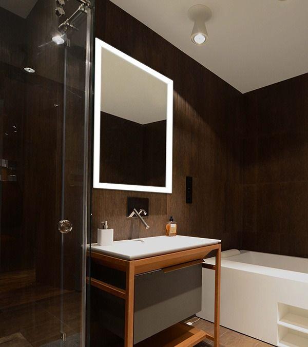 Lighted Frame Mirrors Mirror Frames Backlit Mirror Lighted Bathroom Mirror