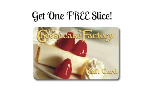 #BigLots Buy a cheesecake factory gift card get a slice of cheesecake free