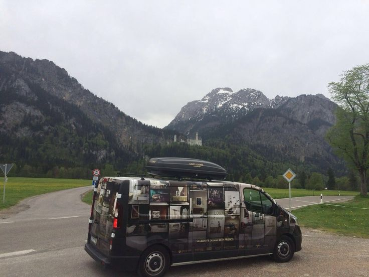 Coveted Magazine is everywhere! On our way to #neuschwanstein castle!   See more: http://covetedition.com/coveted-edition-magazine-fourth-edition/ #CovetedMagazine #covetedaroundtheworld #magazine #Germany #interiordesign
