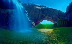 Resultado de imagen para paisajes de atardeceres de fantasía
