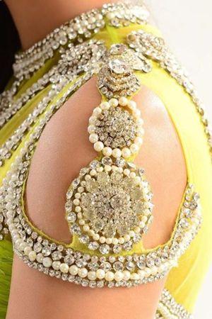 Intricate Detailing – Elegant, Suave and Beautiful #ShaadiMagazine #Design #Details #Shaadi  #saree #indian wedding #fashion #style #bride #bridal party #brides maids #gorgeous #sexy #vibrant #elegant #blouse #choli #jewelry #bangles #lehenga #desi style #shaadi #designer #outfit #inspired #beautiful #must-have's #india #bollywood #south asain