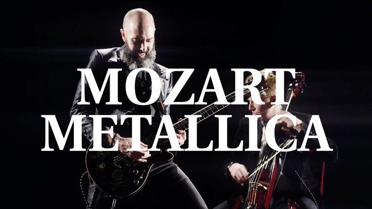 Mozart - Metallica (Symphony No. 40 - Enter Sandman : MOZART HEROES [OFFICIAL VIDEO] - YouTube