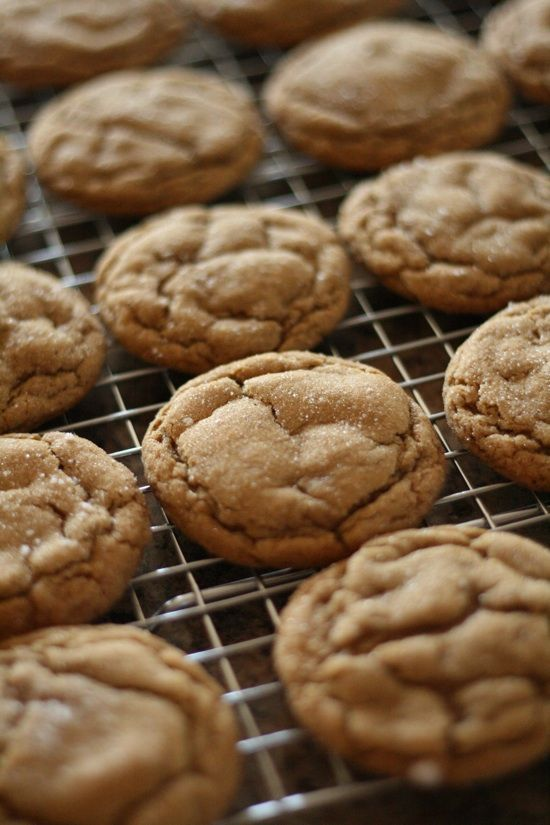 Gingerdoodle Cookies....these are AMAZING! Super soft and chewy...my favorite kind of cookie for Christmas :)