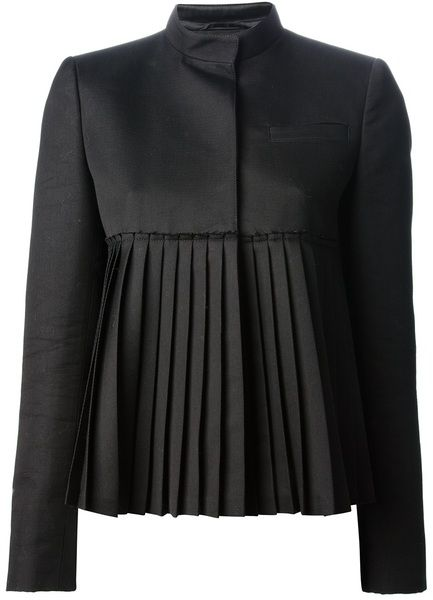Givenchy Pleated Jacket