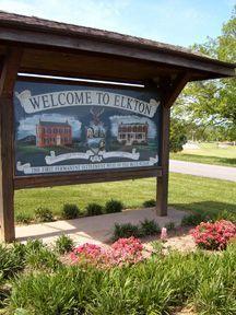Welcome Sign In Elkton Va