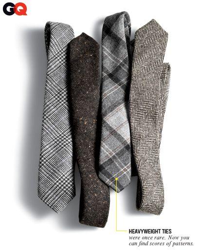 Heavyweight TiesMen Wool Coats, Men Clothing Vintage, Flannels, Men Clothingapparel, November 2011, Men Ties Fashion, Men Fashion, Gq November, Men Style Winter Coats