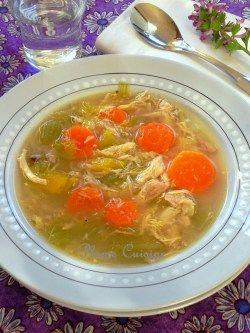 soupe poulet traditionnelle (20b)