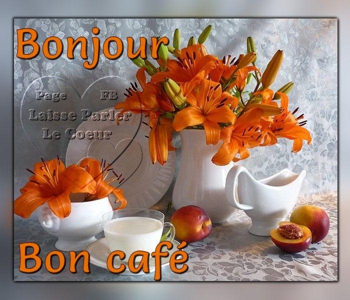 Bonjour, Bon café #bonjour