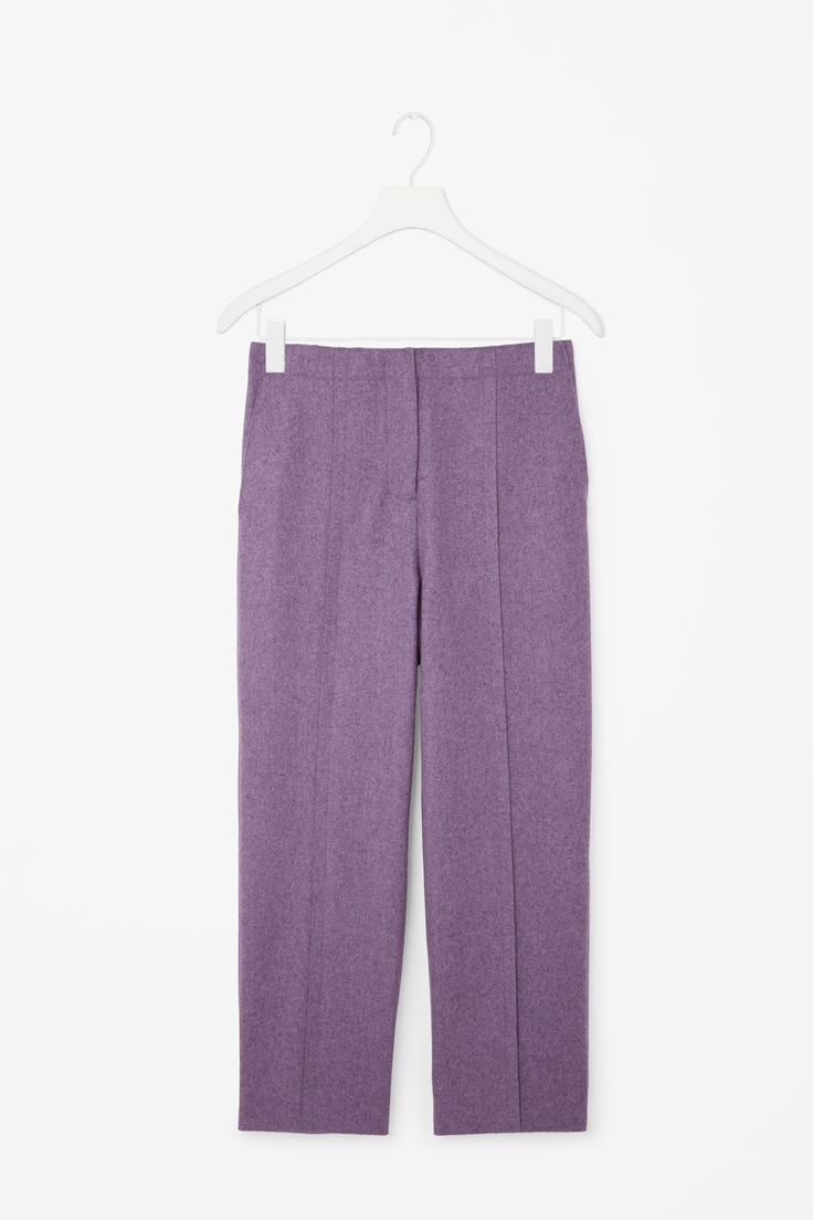 COS | Raw-cut wool trousers
