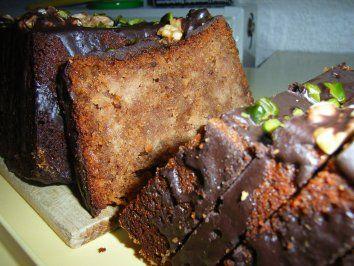 Rezept: Kuchen: Nuss-Apfel-Kiste