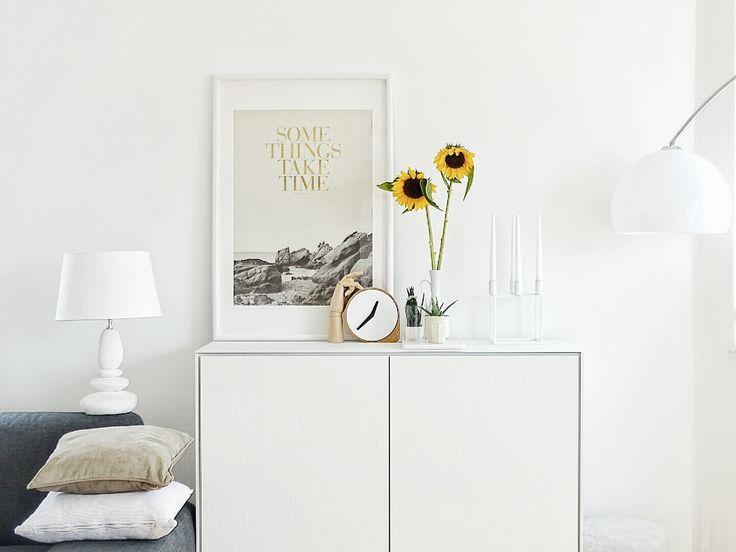 25+ melhores ideias de Blumen regal no Pinterest Exibição - Regale Für Wohnzimmer