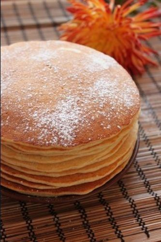 Manno-oat pancakes. WITHOUT FLOUR!