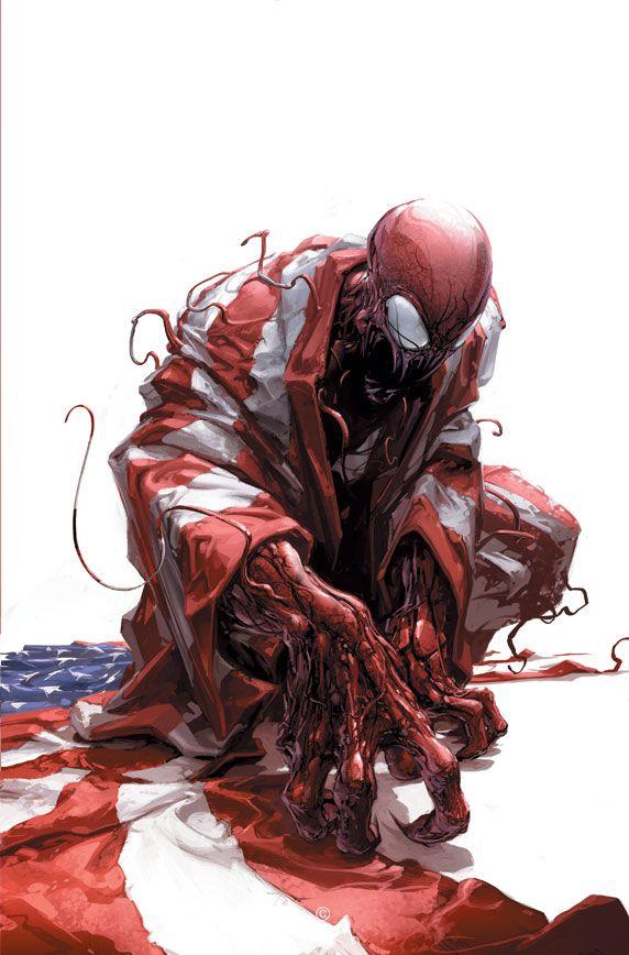 CARNAGE U.S.A. #1 by Clayton Crain