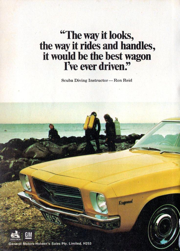 https://flic.kr/p/LYLyPn | 1973 HQ Holden Kingswood Wagon Page 1 Aussie Original Magazine Advertisement