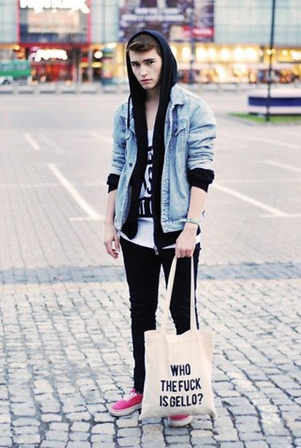 Nice Awesome 45 Real outfits for Teen Boys | hercanvas.com/...... Check more at http://myfashiony.com/2017/awesome-45-real-outfits-for-teen-boys-hercanvas-com/