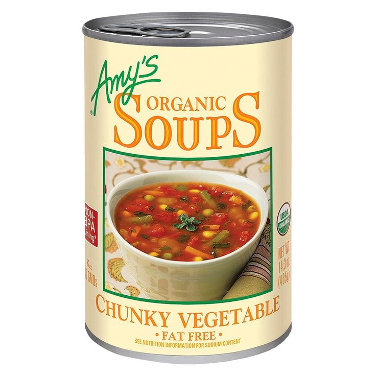 Amy's Organic Fat Free Chunky Vegetable Soup 14.1 oz