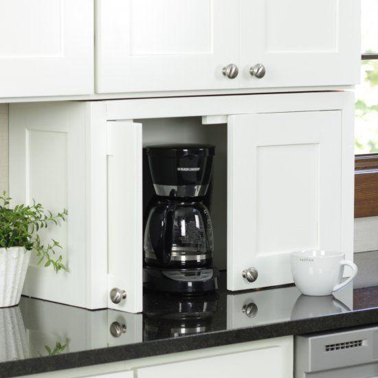 DIY Appliance Garage Craft Gawker Good Ideas Kitchen