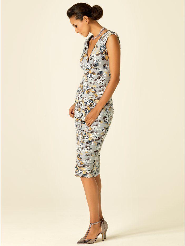 M&Co. Boutique Romantic print shutter dress