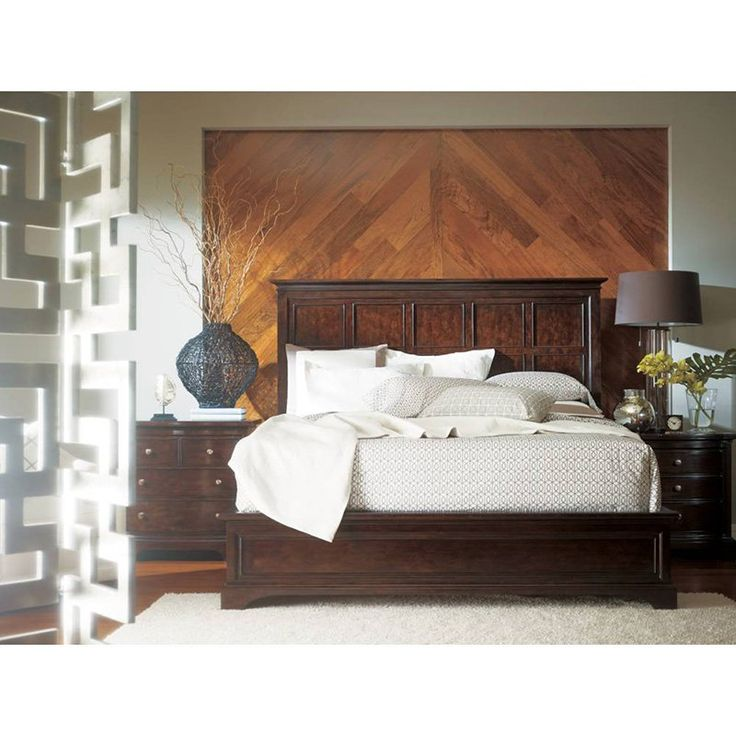 Stanley Furniture Transitional Panel Bed | from hayneedle.com