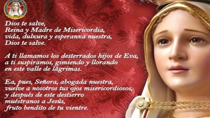 SALVE REGINA   Oracion a la Virgen Maria