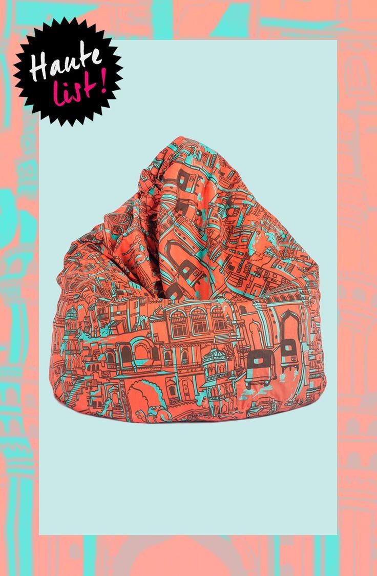 Chumbak Majestic City Bean Bag