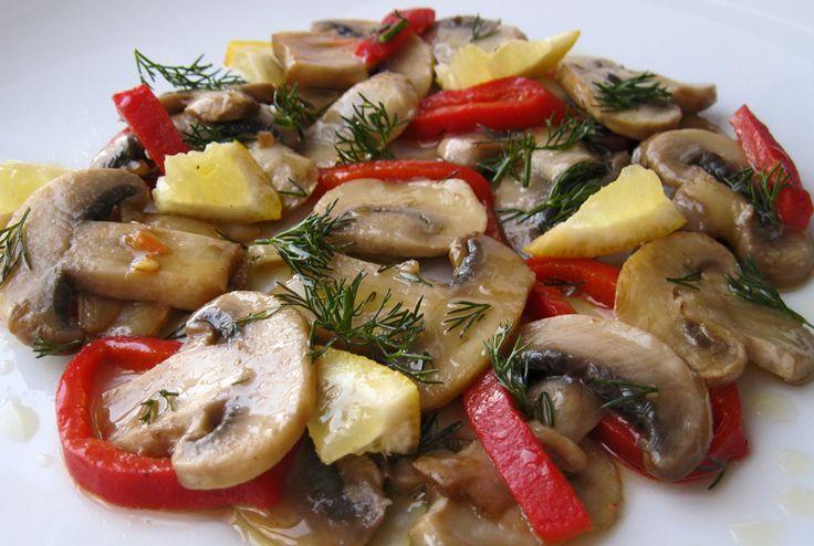 Zeytinyağlı Mantar Tarifi | Oktay Ustam İlk Yemek Tarifleri Resmi Web Sitesi