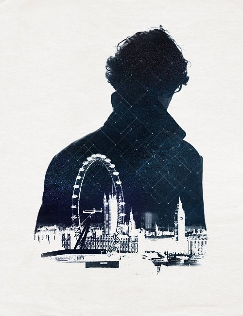 i gotta say, one of the loveliest bits of fan art i've seen in a while. :) #sherlock #london