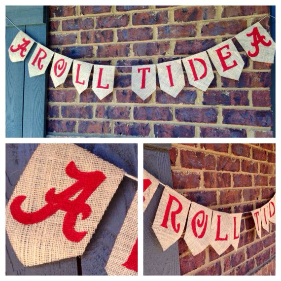 University of Alabama Banner Alabama Football by AllThingsareBrite