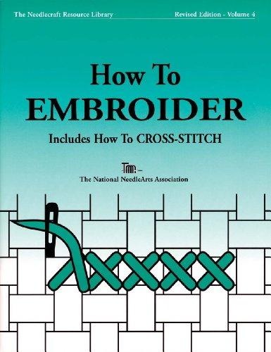 TNNA Books: How To Embroider & Cross Stitch