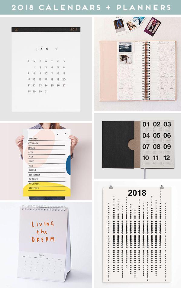 Coolest calendars 2018