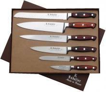 Sabatier Perrier, Eur 180:  Knives Gift Box - 6 Pieces Elegance - Chef' Sets