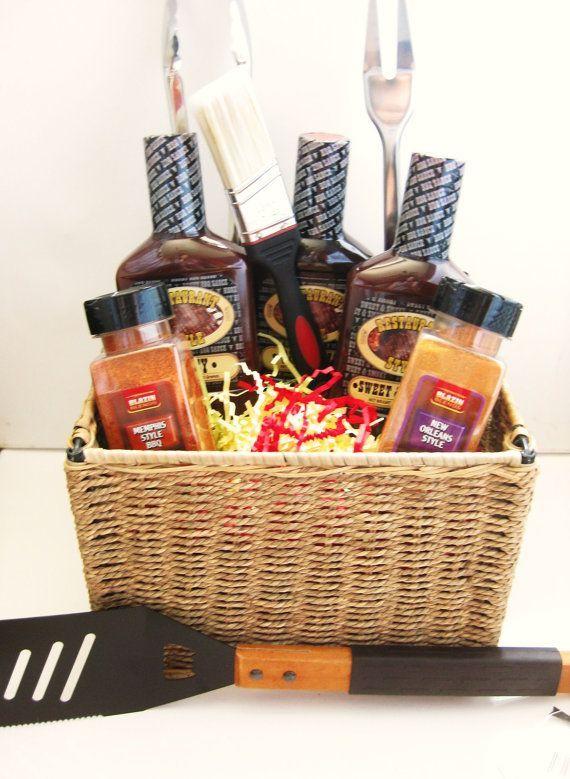 Handmade Christmas Gift Basket Ideas : Diy gift baskets bbq basket todayseverymom homemade