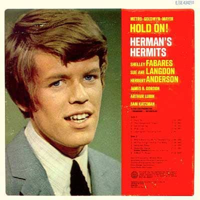 Hold On Herman S Hermits Music From The Original Sound Track Sealed Vinyl Pussycat Records In 2020 Original Sound Track The Music Man Music