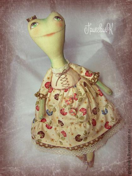 Ква-Царевна - лягушка,царевна лягушка,подарок,подарок девушке,игрушка