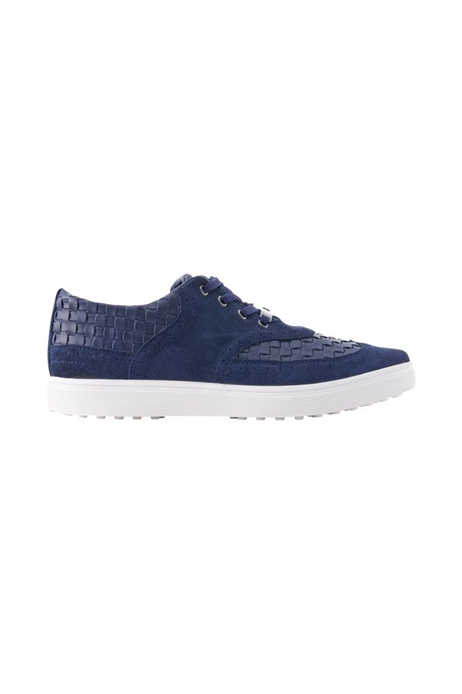 FÅNE - Urban Suede/Leather Navy Blue Shoes