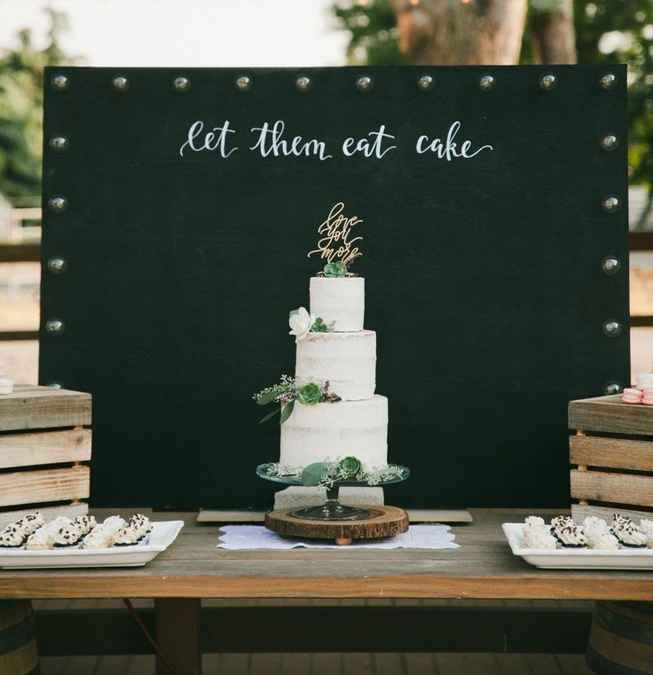 let them eat cake backdrop