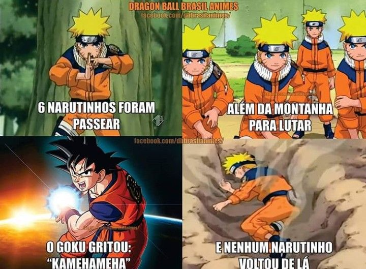 Desculpa A Todos Os Fas De Naruto Nunca Assisti Nao Sei Como E Mas Eu Tive Que Postar Isso Kkkkkkk Anime Meme Memes De Anime Anime Engracado