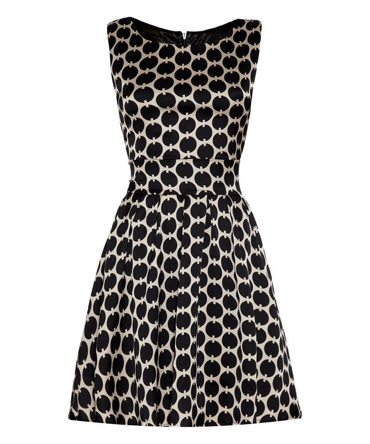 Iska London Black Mad Tie-Back Dress | zulily