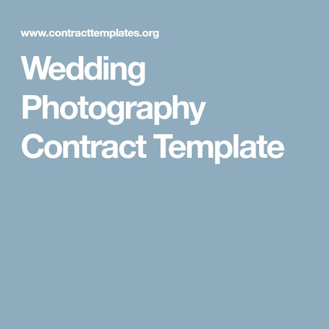 Best  Photography Contract Ideas On   Photography