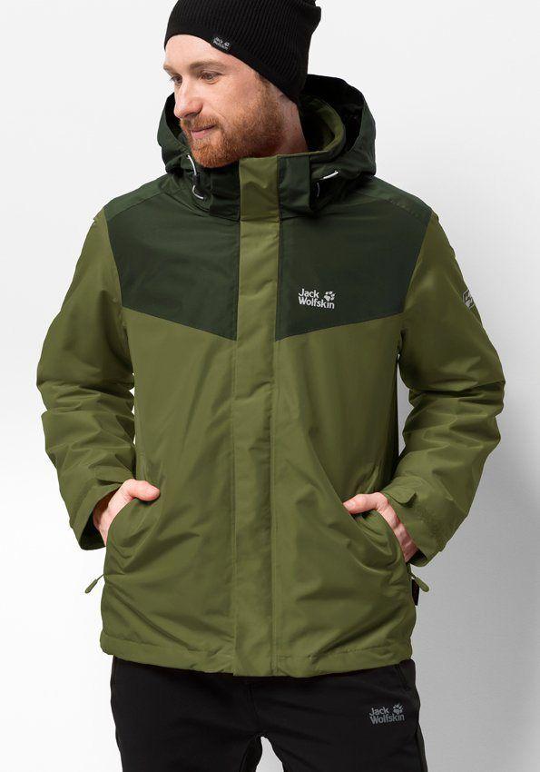 Jack Wolfskin 3 In 1 Funktionsjacke Arland 3in1 M Ab 199 99 3 In 1 Jacke Schutz Vor Wind Schnee Und Regen Robust 2 Jacken Manner Jacken Taktische Jacke
