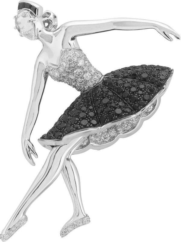 Piękno baleriny uchwycone w biżuterii Van Cleef & Arpels | Artbizu.pl