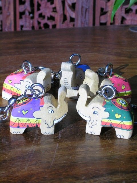 Wooden Elephant key ring. http://www.maroque.co.uk/showitem.aspx?id=ENT03957&p=06506&n=all