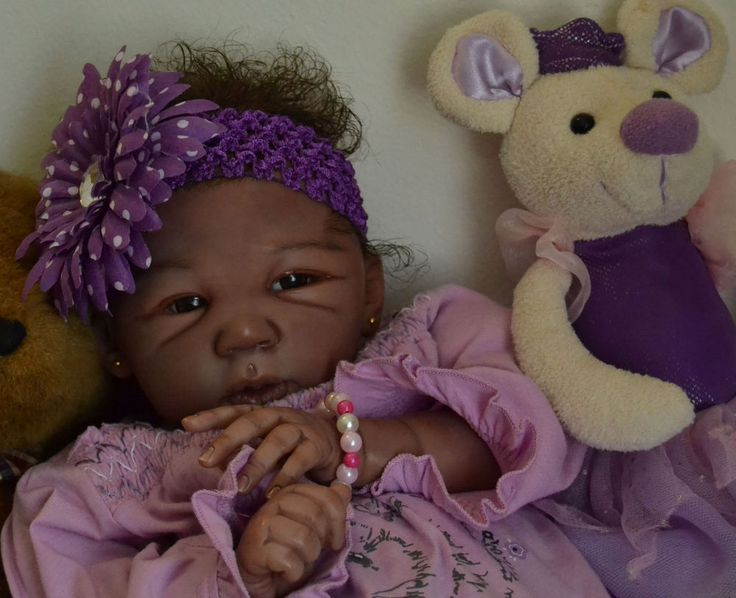 A A ETHNIC - ADORABLE BABY SARIA - FAIRY REBORN BABIES - NORRY OTTE