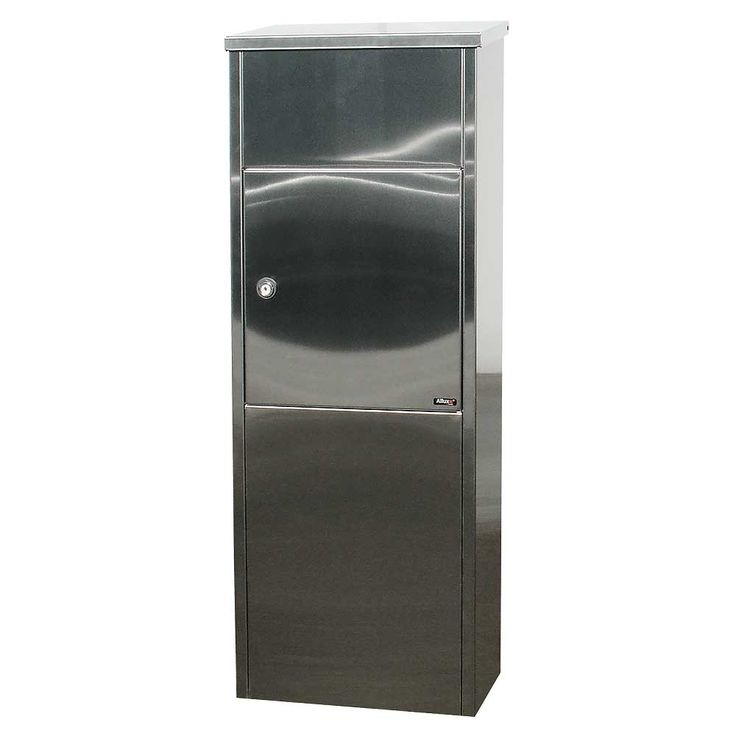 QualArc ALX-600-SS Allux 600 Stainless Steel Mail Drop Box