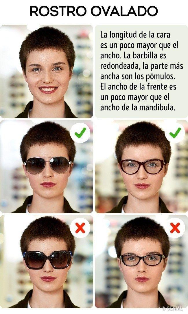 Cómo escoger las gafas de sol en función de tu rostro