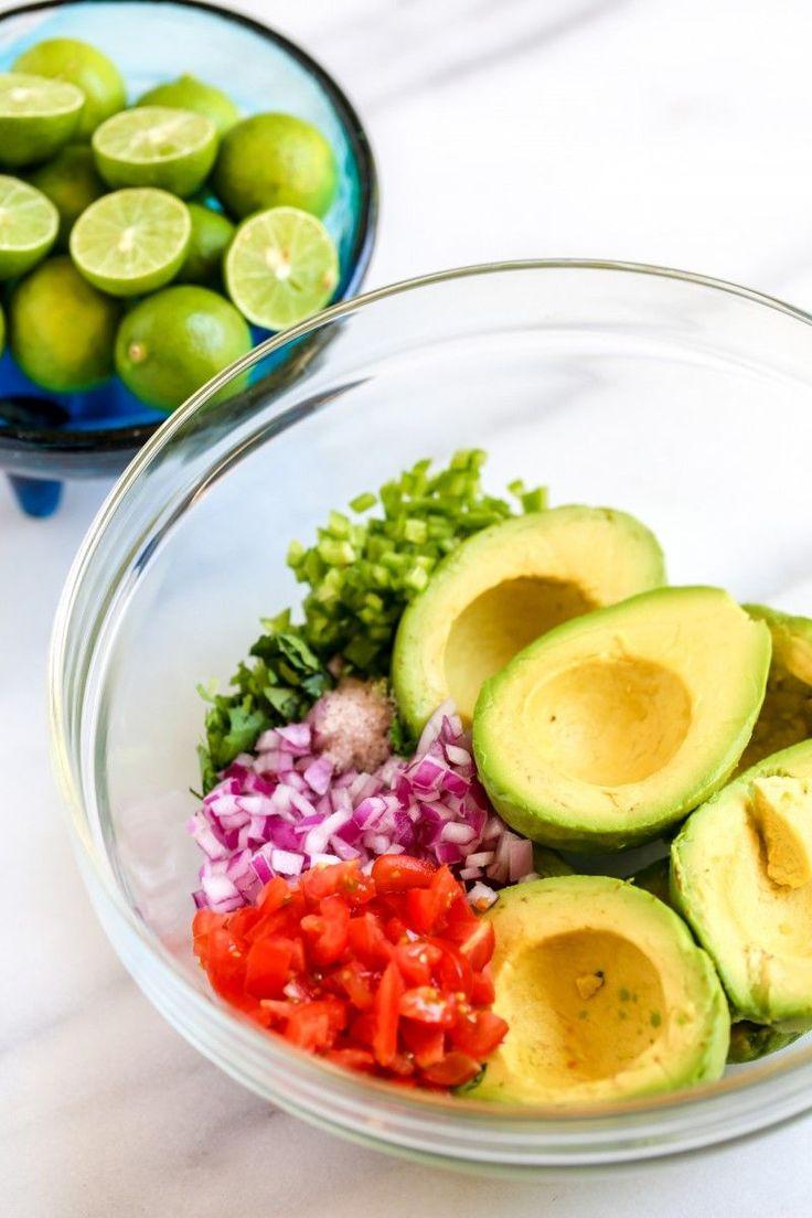 Test run in future...Authentic Mexican Guacamole Recipe